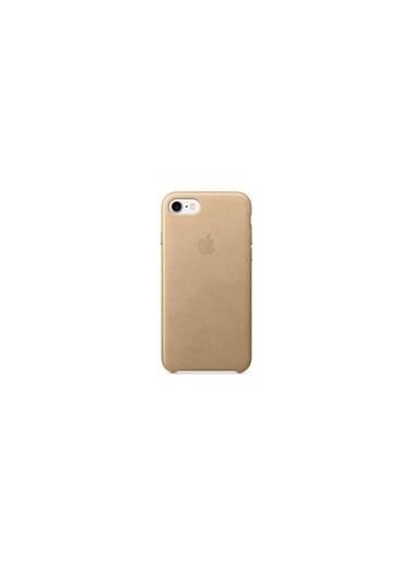 Apple Iphone 7/8 Orjinal Tan Deri Kılıf Renkli